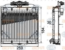 HELLA 8MO 376 753-571 OIL COOLER ENGINE FITS BMW 7 (F01/F02) WHOLESALE PRICE