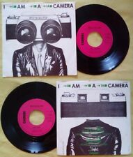 "7""45 Giri Buggles I Am A Camera/Fade Away SYNTH POP ITALY 1981 no lp mc cd dvd"