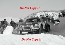 Ove Andersson Alpine-Renault A110 1800 Monte Carlo Rally 1973 Photograph 1