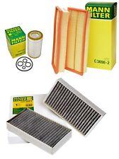 Mann Oil Air Carbon Cabin Filter Service Kit for Mercedes W164 X164 W251 ML GL R