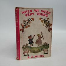 1943~A A Milne~When We Were Very Young~HBDJ