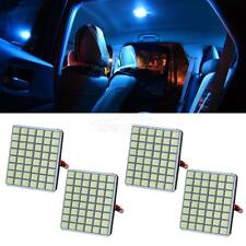 4x 48-5050-SMD LED Panel Lights Ice Blue Interior Dome Map Trunk Lamp 12V