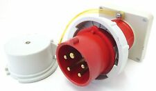 MENNEKES 1253 Anbaugerätestecker Anbaustecker 16A 5p 6h 400V IP67 Einbaustecker