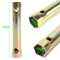 Motorcycle Ignition Spark Plug Spanner Wrench Tool 16/18mm For Deep Reach Socket
