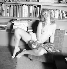 1960s Ron Vogel Negative, gorgeous nude blonde pin-up girl Sally Baker, t30645
