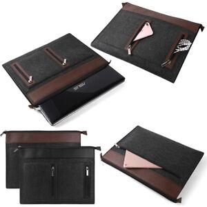 "Woolen Felt Laptop Notebook Sleeve Case Bag For 10.1""-17.3"" MacBook Dell HP Asus"