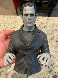 Frankenstein's Monster  (B&W Variant) - Vinyl Bust Bank - Diamond Select