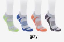 Copper Fit™ 4 Pair Unisex Sport Performance Socks, Gray, Size L/XL