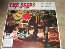 THE SEEDS & SKY SAXON - BAD PART OF TOWN - NEW LP RECORD