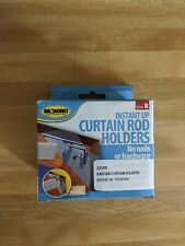 IdeaWorks Instant Up Curtain Rod Holders with FREE Shipping