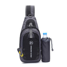 Travel Shoulder Bag Small Crossbody Chest Pack Casual Sling Bag Outdoor Camping
