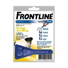 Frontline Spot On Flea For Small Dogs 2-10kg Pipettes AVM-GSL