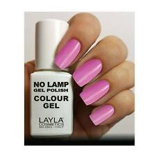 Nuove Tonalita' in Assortimento Layla no Lamp Gel Polish Semipermanente Promo N° 14 Dance with Pink