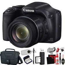 Canon PowerShot SX530 HS Digital Camera (Intl Model) +Extra Accessory Bundle