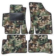 Armee-Tarnungs Autoteppich Autofußmatten Auto-Matten für Kia Rio II 2000-2005