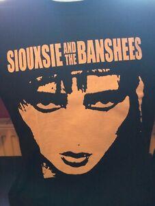 SIOUXSIE & THE BANSHEES (FACE DESIGN) - 100% COTTON T-SHIRT