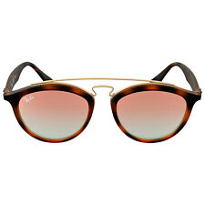 Ray Ban Gatsby II Round Copper Gradient Mirror Sunglasses