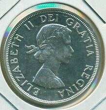 1964 CANADA SILVER DOLLAR, CHOICE PROOFLIKE BRILLIANT UNCIRCULATED, GREAT PRICE!