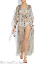 NEW AUTHENTIC MELISSA ODABASH SILK  KAFTAN  ONE SIZE  8 / 10 / 12  (£615)