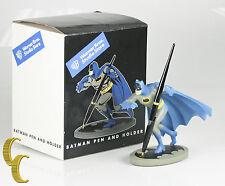 Adam West Signed Rare Batman Figural Desk Pen and Holder Warner Brothers
