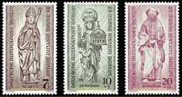 EBS Berlin 1955 Reconstruction Destroyed Churches Michel 132-134 MNH**