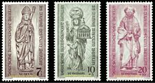 EBS West Berlin 1955 Reconstruction Destroyed Churches Michel 132-134 MNH**