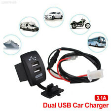 8662 ABS Car USB Charger USB Charger Car Charger Mobile Phone Switch Auto Rocker