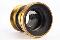 Antique The Elliot's Extra Rapid 7 Inch f/8 Brass Lens VERY RARE V14