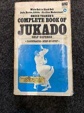 Complete Book of Jukado Self-defence Tegner Bruce Judo Karate Aikido Jiu Jutsu