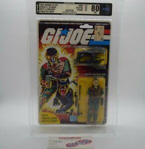 New Vintage Hasbro GI Joe Mutt & Junkyard Figure 1984 Graded AFA 80 85/80/85