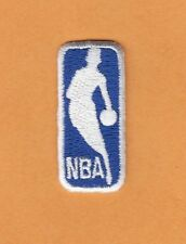 "NBA BASKETBALL LOGO PATCH UNUSED OLD STOCK SMALL 1 1/2"" HAT SHIRT BABY ITEM BAG"
