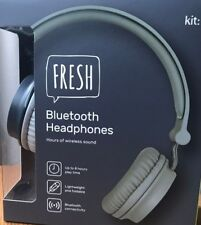 new Fresh Wireless Bluetooth Headphone - Grey Kit