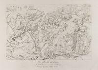Gravur Antik 1876: der Aufstand Der Cairo (Ägypten) . Napoleon Bonaparte