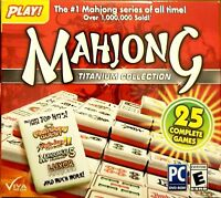 Mahjong: Titanium Collection - 25 Pack [Windows 10] - New Puzzle PC Game