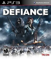 Defiance [PlayStation 3 PS3, Action Persistent World Third Person Shooter] NEW