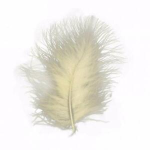 Marabou Feathers 20 Per Pack - 8 - 13 cm - Fluffy & Soft -  35 Colours