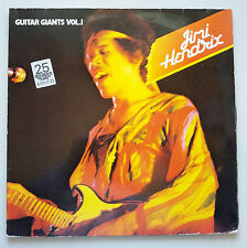 Jimi Hendrix - Guitar Giants Vol 1 2x Vinyl LP Rare Live Recordings And Covers