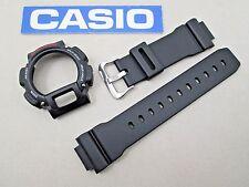 Genuine Casio G-Shock DW-9052 watch band bezel & studs black DW-9050 DW-9051