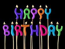 Happy Kids Birthday custom 24x18 DOUBLE SIDED yard sign BD146