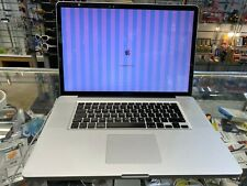 FAULTY Rare Apple Macbook Pro A1297 17 inch 2.5Ghz Core i7 Late 2011 256GB SSD