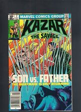 Ka Zar The Savage #7 October 1981 Marvel High Grade