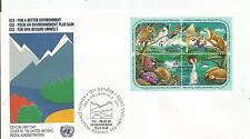 Uno Genf Zdr. Nr.194-97 auf FDC