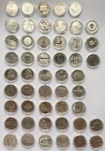 10 Euro Gedenkmünzen Deutschland 2002 - 2010 Silber AG 925 Auswahl