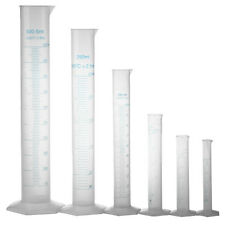 10 25 50 100 250 500 ml graduiert Messzylinder Labor DIY 6 Stk. DE