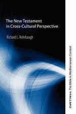 The New Testament in Cross-Cultural Perspective: (Matrix: The Bible in Mediterra
