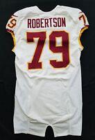 #79 Robertson of Washington Redskins NFL Locker Room Game Issued Jersey