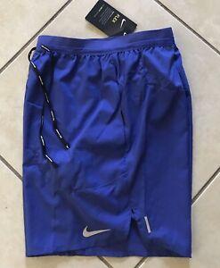 "Nike Men Flex Stride 7"" Running Shorts, Astronomy Blue Briief-lined CJ5459-430 M"