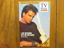 1989 Philadelphia Inquirer TV Week(RICHARD  GRIECO/BOOKER  STREET/21 JUMP STREET