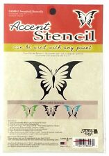 Accent Stencil Swordtail Butterfly Wall Painting Craft Stencil Home Decor Bv