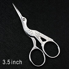 Vintage Stork Embroidery Sewing Craft Shears Cross Stitch Scissors Cutter 2/Size